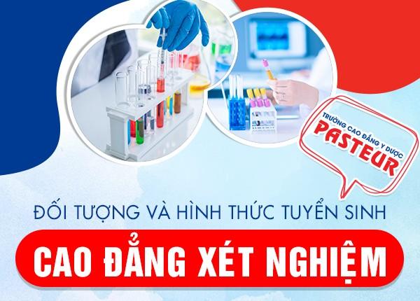 Tuyển sinh Cao đẳng Xét nghiệm TPHCM năm 2021