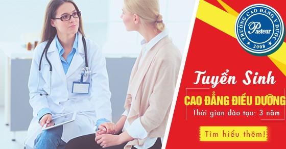 Tuyển sinh Cao đẳng Điều dưỡng TPHCM năm 2021